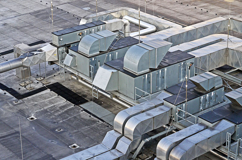 Šachty na střeše